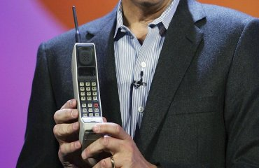 The world's first mobile phone call was made on this date 45 years ago