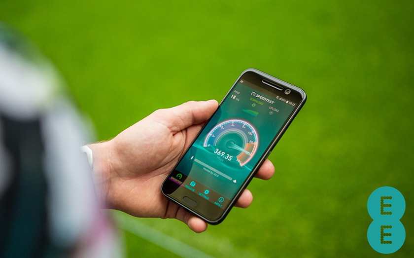 EE offers the fastest 4G speeds in the UK thanks to recent network upgrades