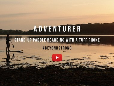 Adventurer - Stand-up paddle boarding with a TUFF Phone