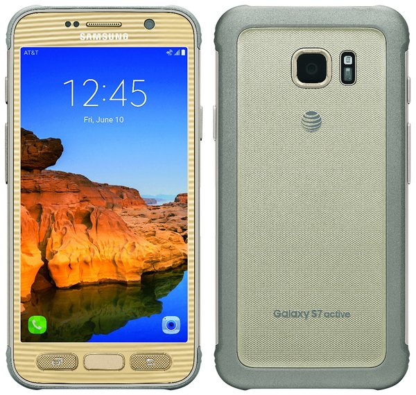 Leaked Samsung Galaxy S7 Active Gold