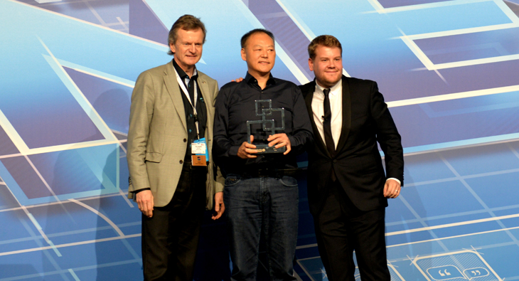 HTC winning best mobile at MWC 2014