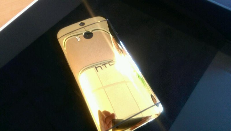 24k Gold HTC One (M8)
